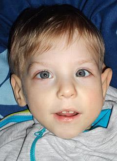 Владик Приходько, 2 года, детский церебральный паралич, требуется лечение. 199430 руб.