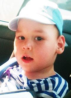 Захар Михалев, 3 года, детский церебральный паралич, требуется курсовое лечение. 190800 руб.