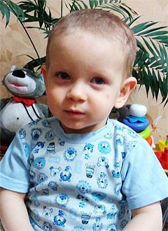 Руслан Собелев, 2 года, врожденный порок сердца, спасет эндоваскулярная операция. 339063 руб.