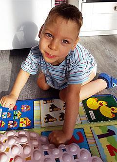 Андрей Горбачев, 6 лет, детский церебральный паралич, симптоматическая эпилепсия, требуется лечение. 199430 руб.