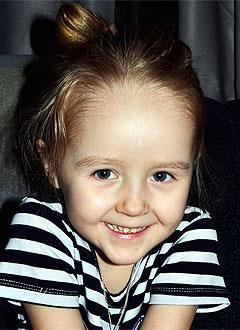 Вика Бородина, 4 года, воронкообразная деформация грудной клетки 3-й степени, спасет операция. 288493 руб.