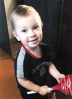 Андрей Марамзин, 2 года, врожденный порок сердца, спасет эндоваскулярная операция. 339063 руб.